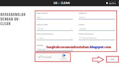 Cara Daftar Go Clean | Syarat Kerja di Layanan Go Clean Dari Gojek
