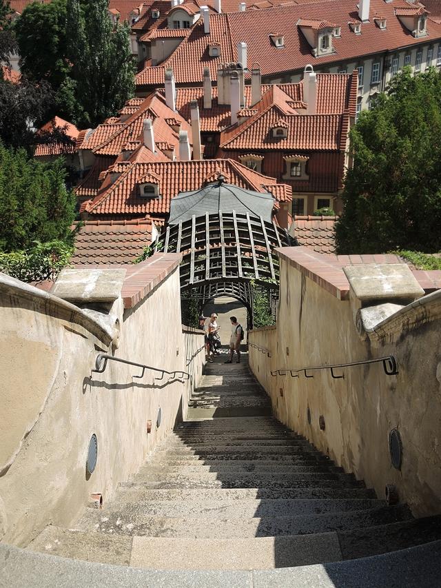 Praag: de Furstenbergtuin
