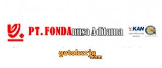 Lowongan Kerja PT Fonda Nusa Aditama Indonesia