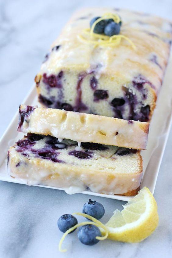 Lemon Blueberry Bread Recipes