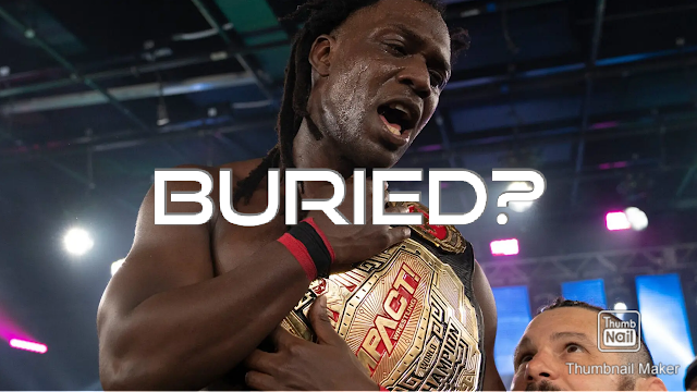 Impact Wrestling Champion Rich Swann Buried By Impact Wrestling
