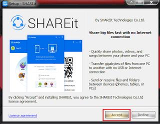 Cara Instal Share It Di Laptop Atau PC Dan Cara Penggunaannya