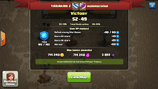 Clan TARAKAN 2 vs warmachine, TARAKAN 2 Victory