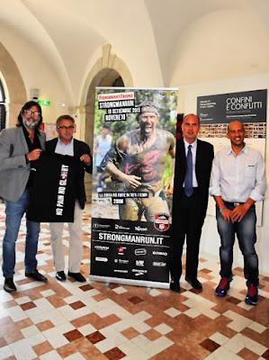 Nella foto da sinistra: Andrea Trabuio, Mario Bortot, Marco Merler, Salvatore Di Trapani.