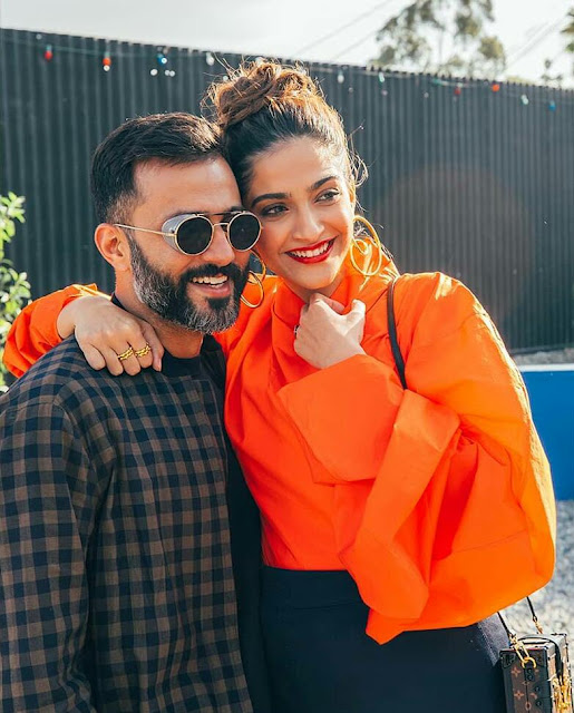 Sonam Kapoor Husband Anand Ahuja Pics 2020