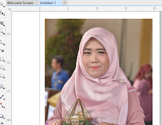 Cara Menghapus Background Foto Dengan CorelDraw