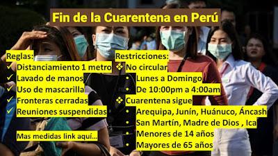 Fin de la Cuarentena Nuevas reglas desde el 1 de julio Estado de emergencia