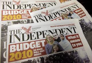 Koran Independent Inggris Tutup