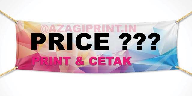 Harga Cetak Banner 2x1 | 3x1 | 3x2 M - Azagi Print