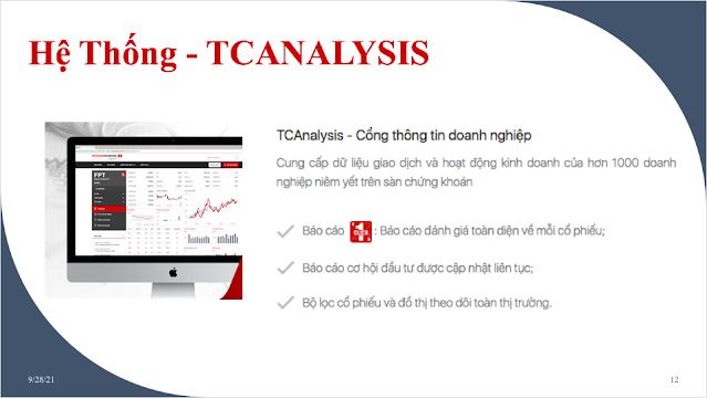 Hệ thống TCANALYSIS