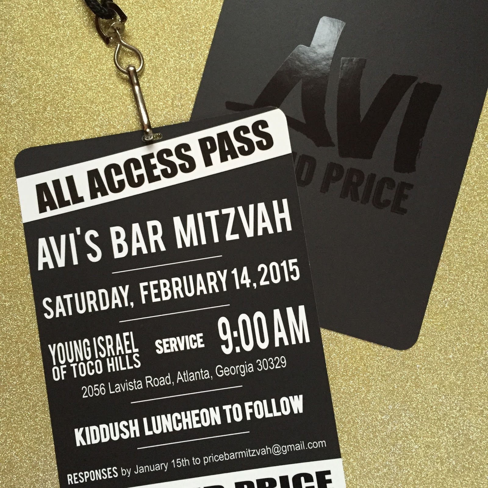 sparkle and ink vip style bar mitzvah invitations all guests are
