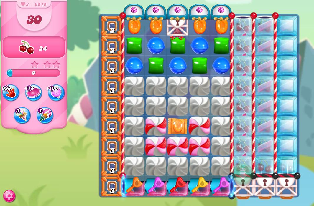 Candy Crush Saga level 95165