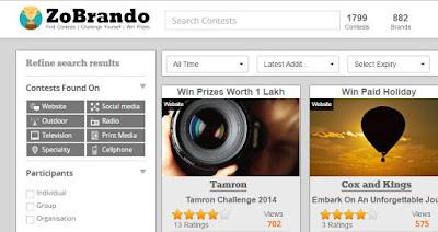 zo brando online daily contest