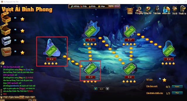 Vượt ải đỉnh phong trong Game Kỷ Nguyên Hải Tặc