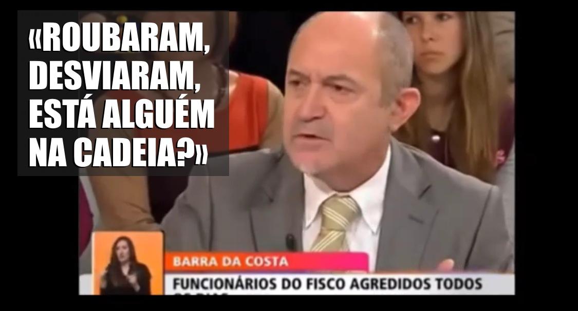 Barra da Costa ARRASA políticos em directo na TVI