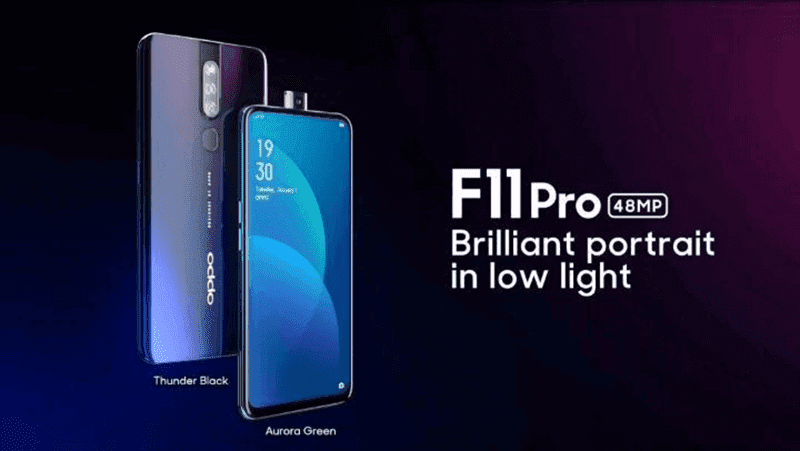 OPPO F11 Pro's full specs leaked ahead of launch