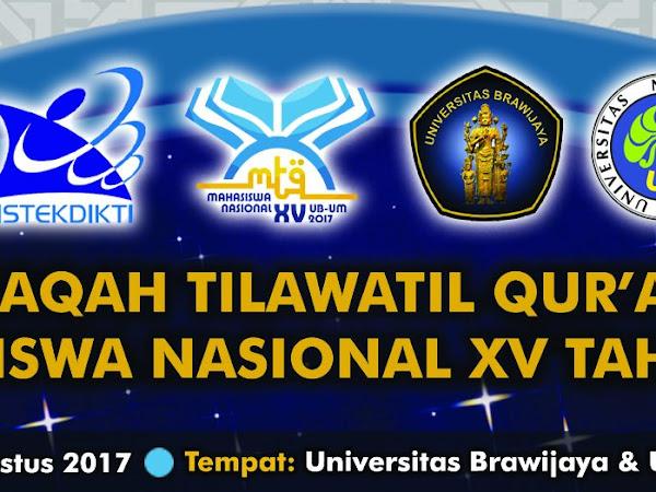 Yuk Ramaikan Bazar UB Musabaqah Tilawatil Qur'an (MTQ) Mahasiswa Nasional XV 2017