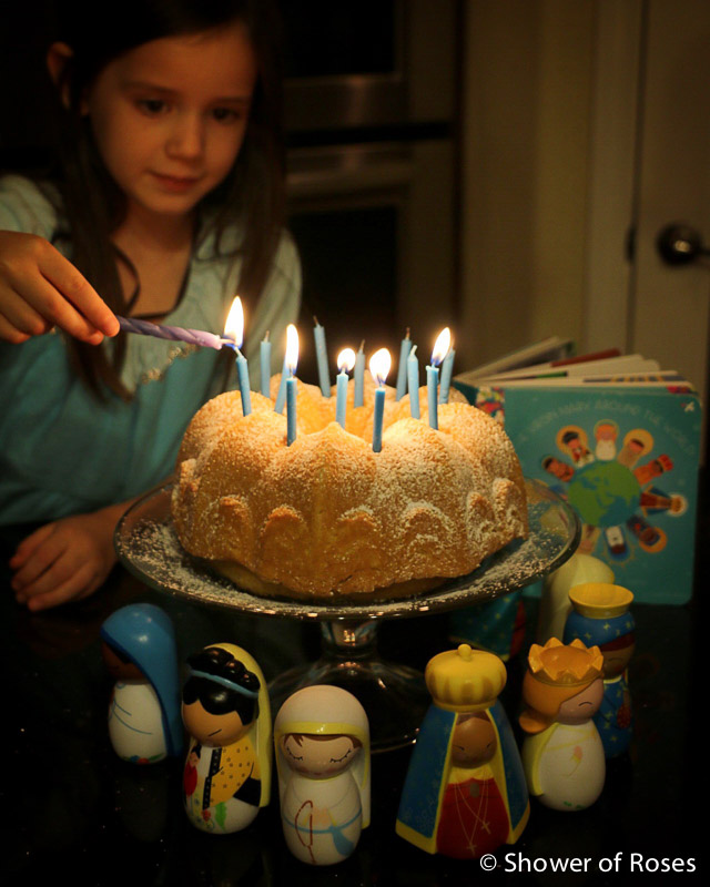 Crown And Birthday Cake Hymns