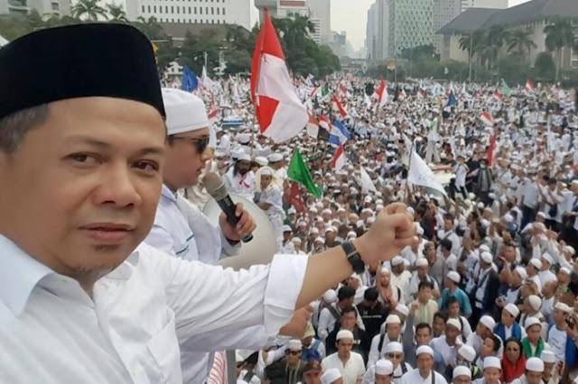Fahri Nilai Reuni 212 Beri Elektoral Sangat Besar untuk Prabowo