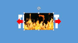 Cara Membuat Teks dengan Efek Kobaran Api Pakai PowerPoint