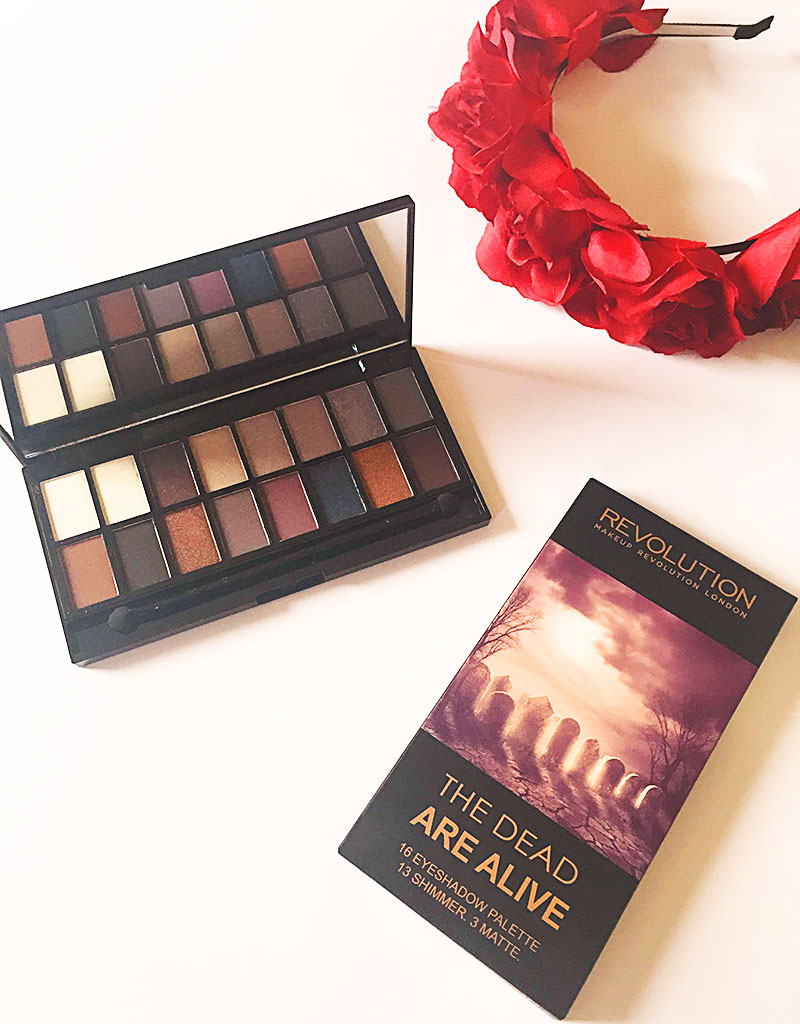 The Dead Are Alive Makeup Revolution Eyeshadow Palette