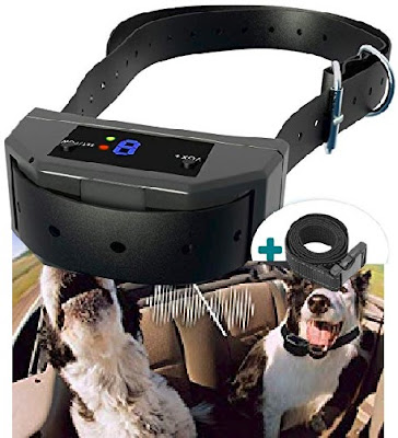 Elzu Dog Collars: Electronic Anti-Bark Collar for Pet Dogs