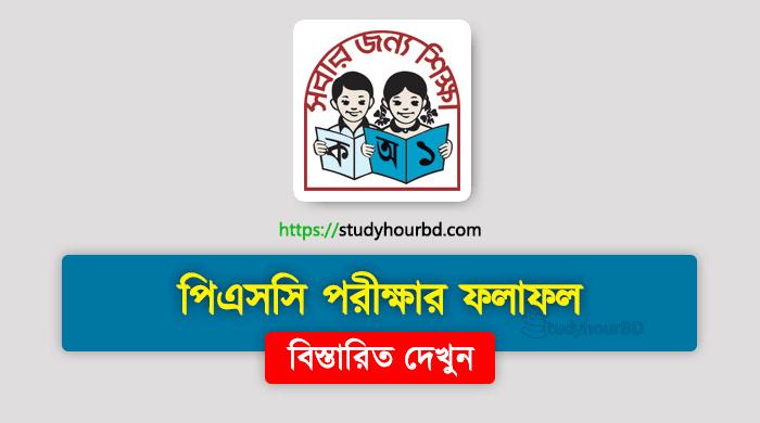 PSC Result 2019 – dperesult.teletalk.com.bd
