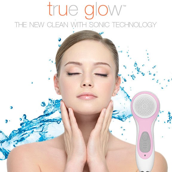 True Glow® Sonic Skincare Solution brush, By Barbies Beauty Bits