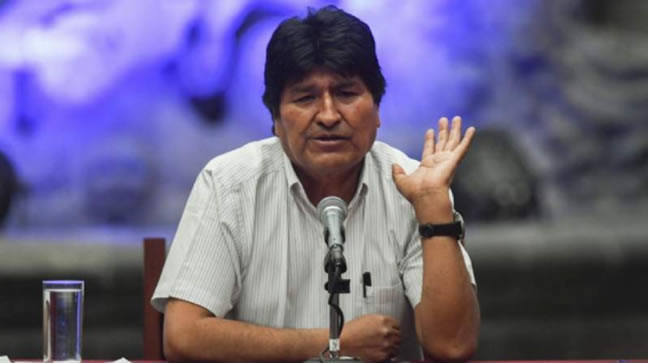 Terrorismo y sedición: orden de aprehensión en contra de Morales tiene base legal