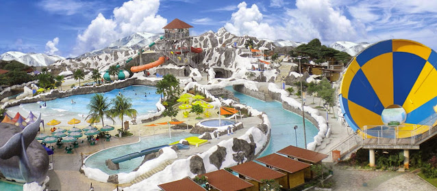 The Beauty Attraction of Taruma Leisure Waterpark in Kerawang West Java