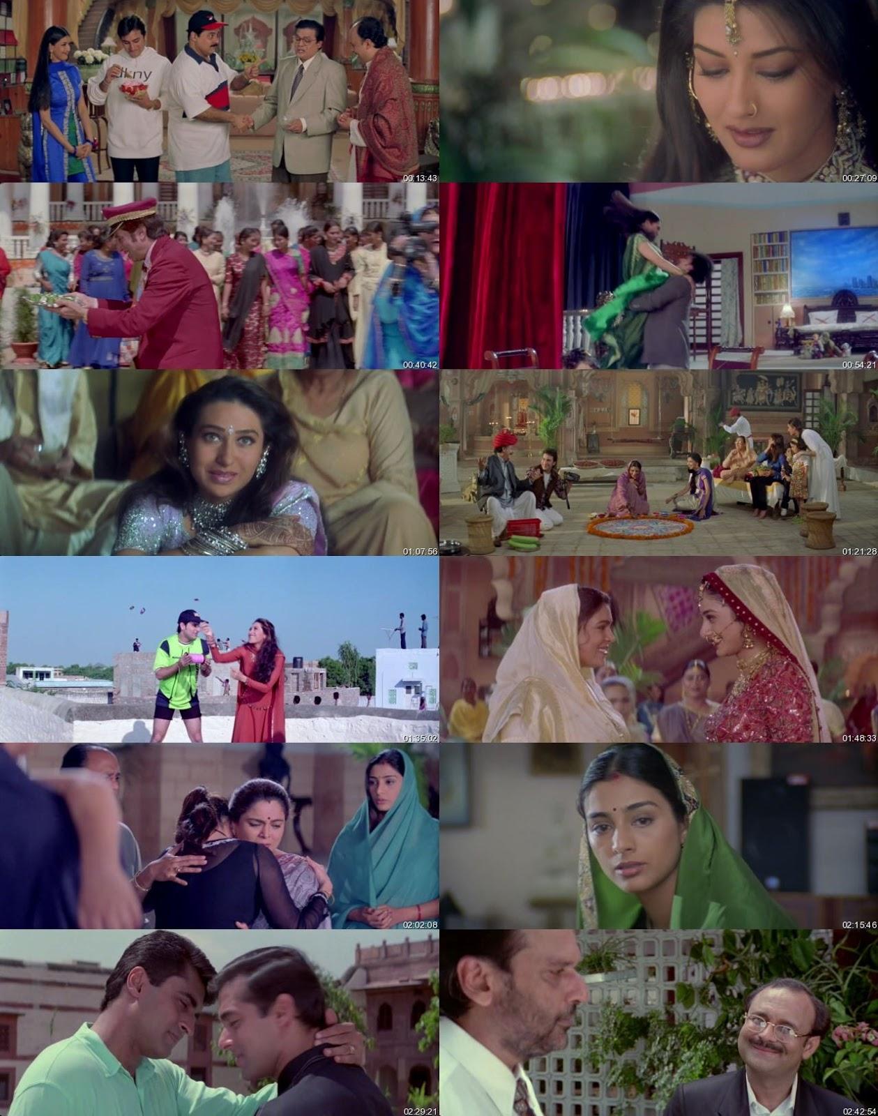 Hum Saath – Saath Hain 1999 Full Hindi Dubbed Movie Download