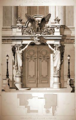 Detalle de fachada 4 Ópera Garnier