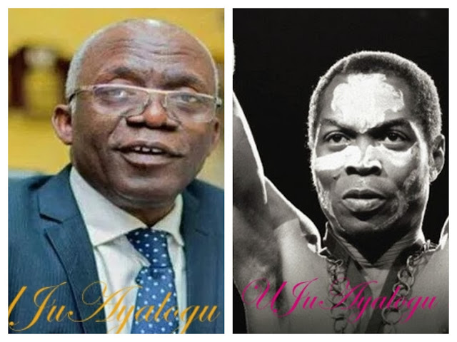 Fela Anikulapo had tendency for criminality, he was my most interesting client – Falana