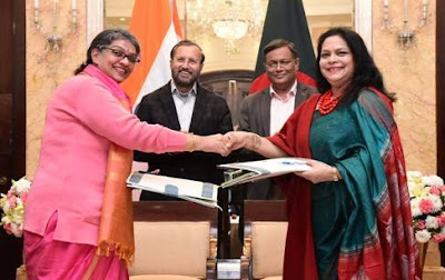 India and Bangladesh signs key agreements in Information and Broadcasting sector