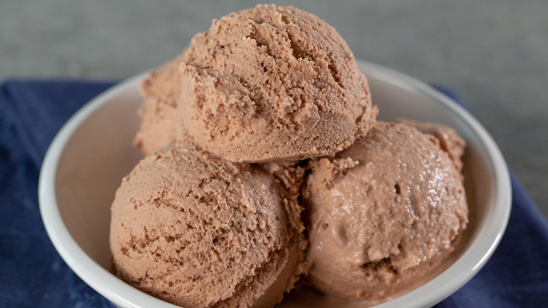 Keto Chocolate Ice Cream