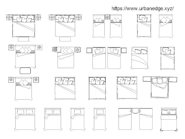 Bed Plans Cad blocks free download - 20+ free cad blocks
