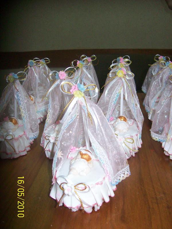 Manualidades nawal porcelanicron baby shower cunas y moises - Como hacer un dosel para cuna ...
