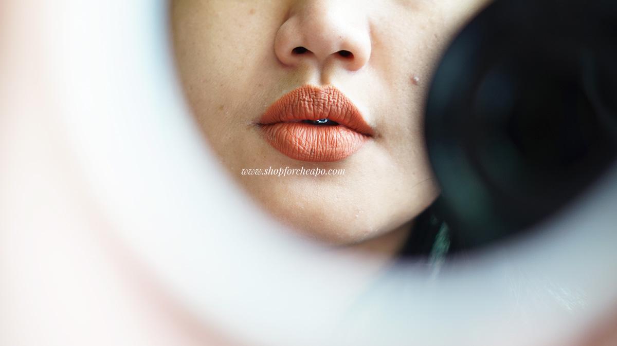 Review Tes Ketahanan Rosé All Day Lip Mousse Dan Swatch Lengkap