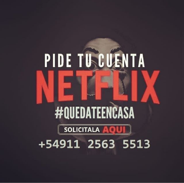 NextArg 2020 ¡Gana dinero revendiendo cuentas netflix!