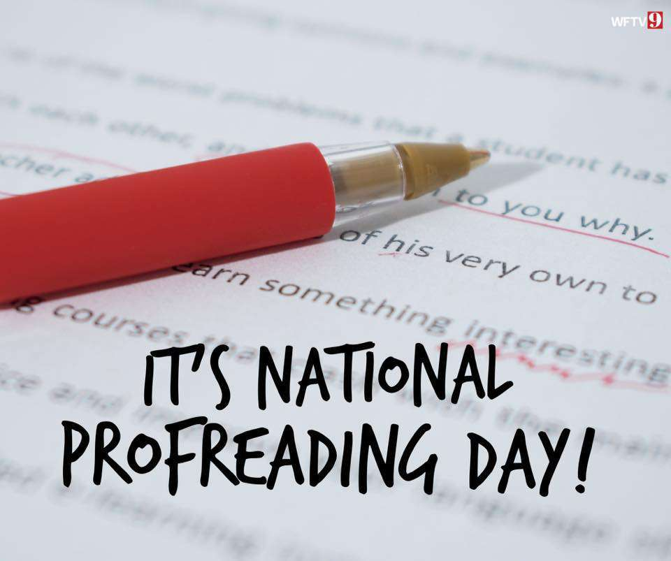National Proofreading Day Wishes for Whatsapp