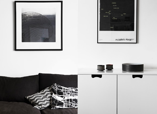 My Scandinavian Home A Swedish Home With Black Floors And