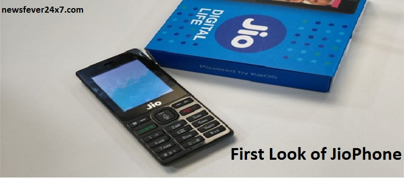 First Look of JioPhone