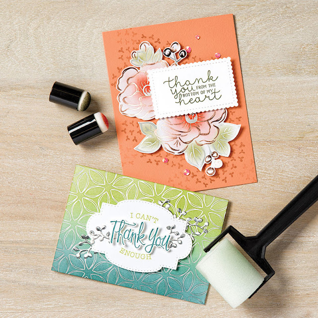 Flowering Foils Stampin Up