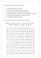 Atividade sobre a Lenda do Lobisomem PDF Grátis