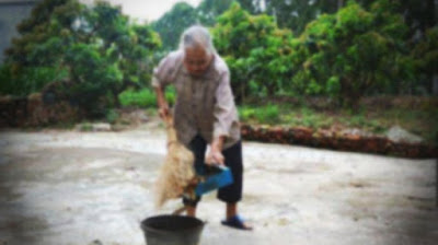 Hina Nenek Penyapu Jalanan, Direktur Ini Terdiam Setelah Melihat Di Balik Jaket Sang Nenek