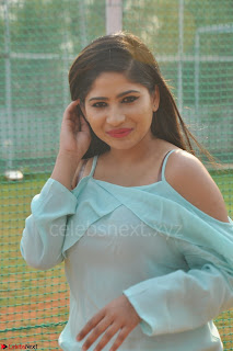 Madhulagna Das looks super cute in White Shorts and Transparent Top 62.JPG