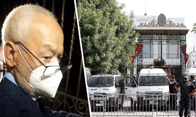تونس: الوضع أمام البرلمان مازال على حاله ولا صحة لإنسحاب المدرعات !