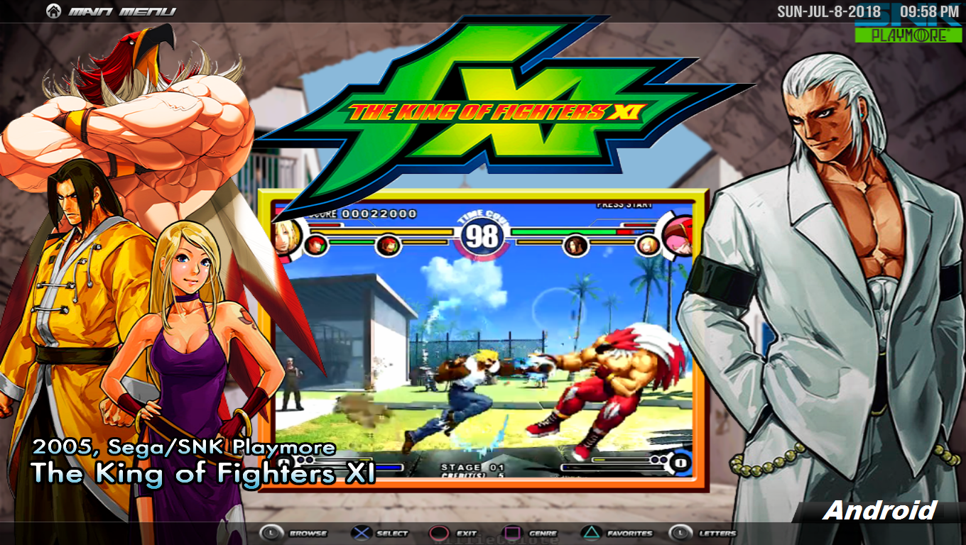 King of Fighter XI Rom