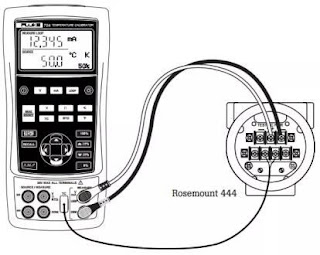 Calibration of Thermocouple type Temperature Transmitter
