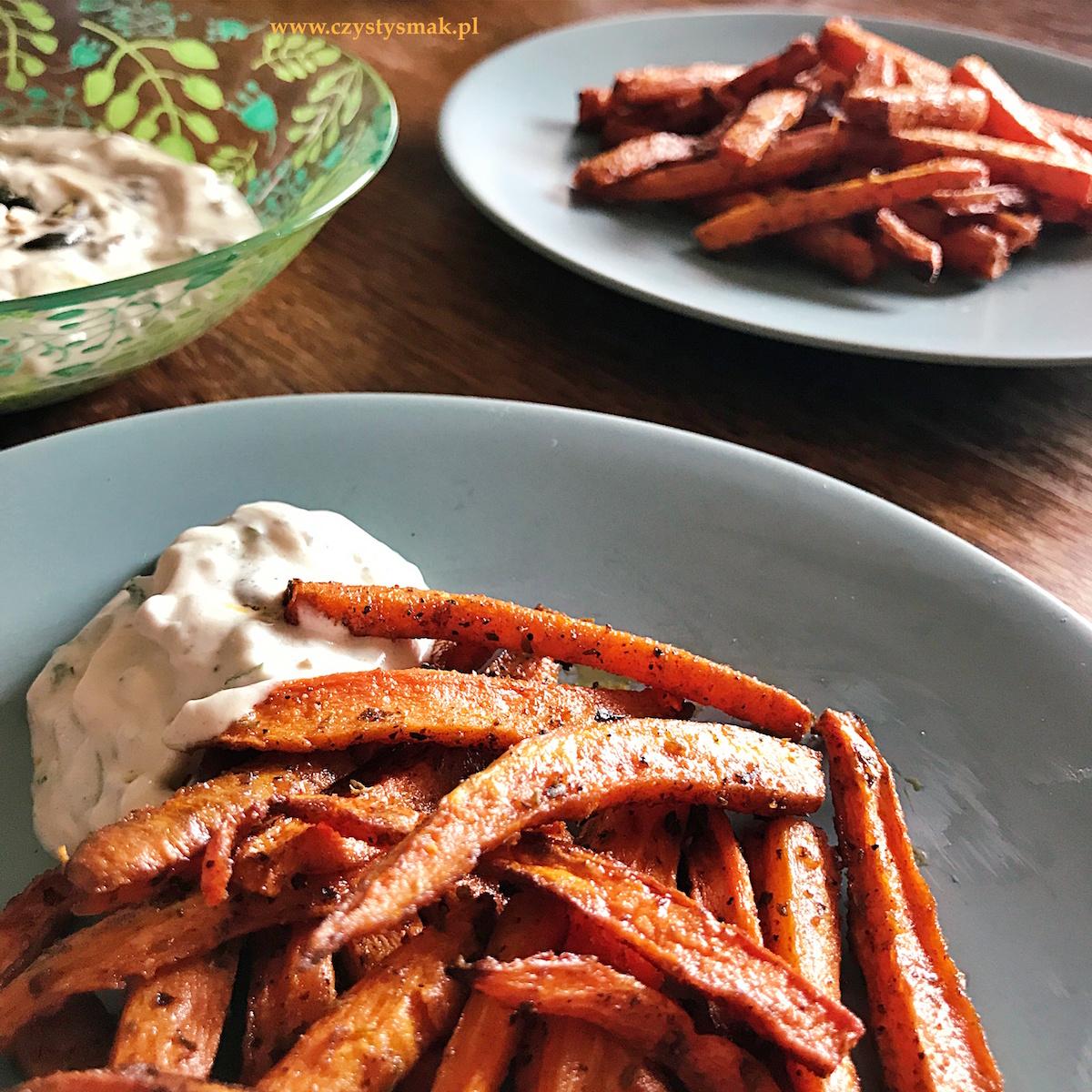 Frytki z marchewki czyli frytki na płodność